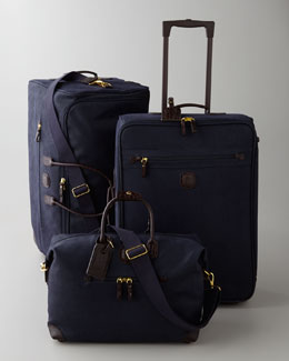 "Bric's Midnight-Blue ""Life"" Luggage"