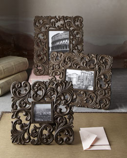 Cast-Aluminum Photo Frames