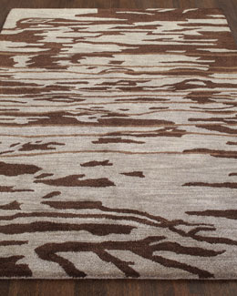 """Jocelyn"" Chocolate Rug"