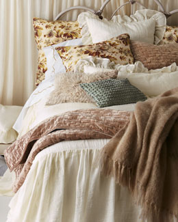 "Pine Cone Hill ""Savannah,"" ""Landon,"" & Matte Velvet Bed Linens"