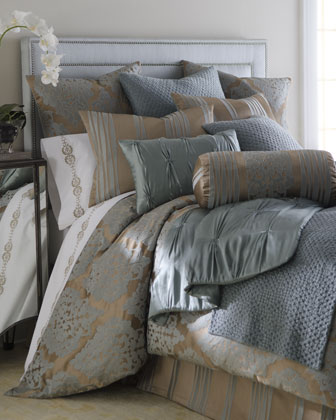 King Striped Sham