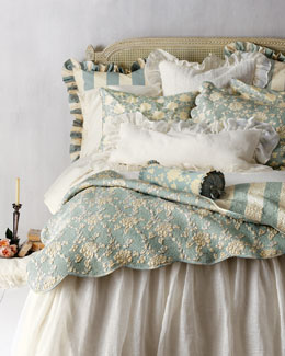 Pine Cone Hill Trellis Bed Linens