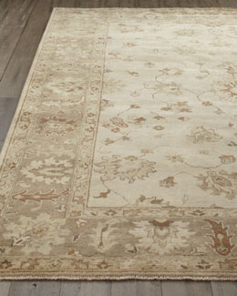 "Exquisite Rugs ""Sandy Vines"" Oushak Rug"
