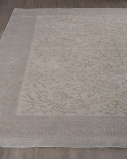 "Exquisite Rugs ""Ivory Vines"" Rug"