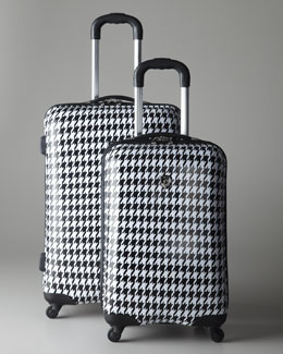 "Heys ""Houndstooth Retro"" Luggage"
