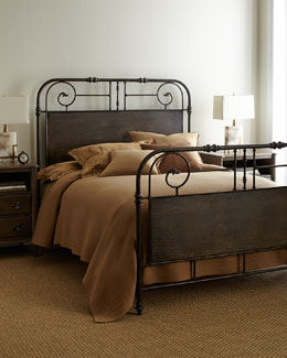 """Maribelle"" Iron Bed"