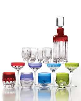 "Waterford ""Mixology"" Crystal Barware"