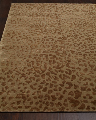 CLOUD LEOPARD RUG 9X12