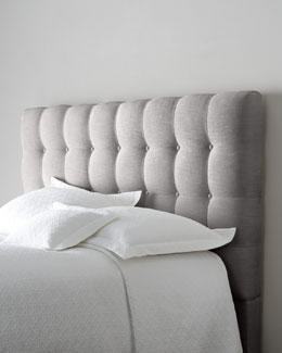 "Bernhardt ""Langford"" Tufted Headboard"