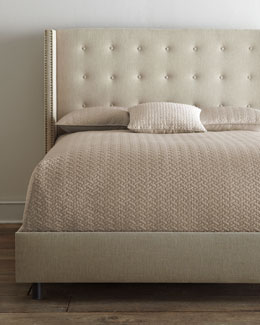 """Parlin"" Tufted Wing Bed"