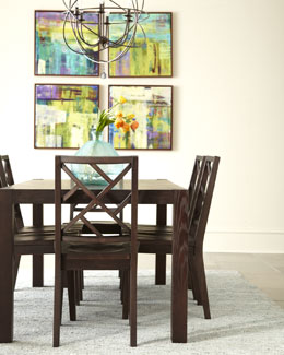 """Karington"" Espresso Dining Furniture"