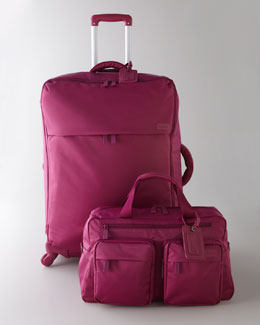 Lipault Fuchsia Luggage Collection