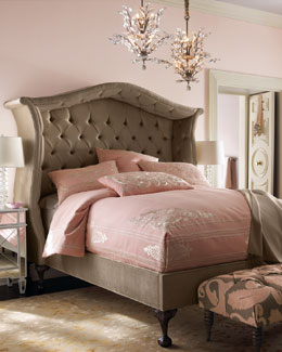 "Haute House Taupe ""Peekaboo"" Bed"