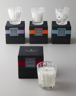 Waterford Crystal Crystal Filled Candles