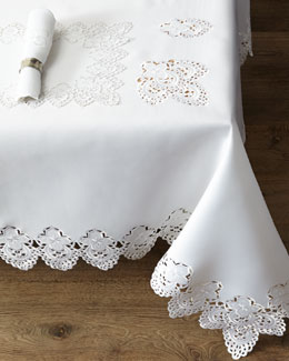 """Mia"" Table Linens"