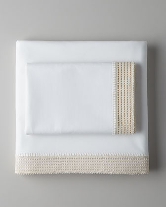 Crochet Queen Fitted Sheet
