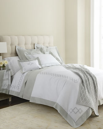 King Sonno Embroidered Duvet Cover, 106