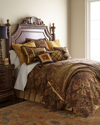 King Scalloped Duvet Cover, 108