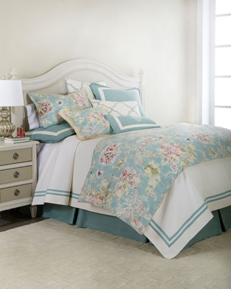 Queen Coverlet w/ Tape Trim, 90