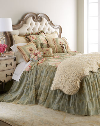 King Skirted Coverlet, 76