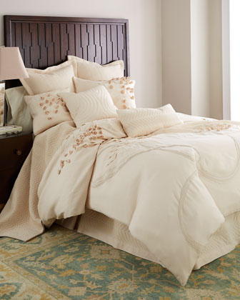 King Applique Duvet Cover, 110