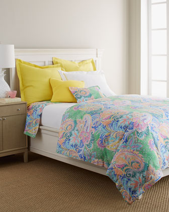 King Paisley Flat Sheet