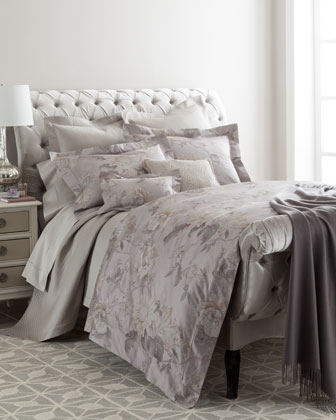 King Botanical Jacquard Duvet Cover, 106