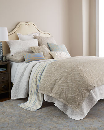 Queen Twine Print Duvet Cover, 92