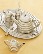 "Towle Silversmiths ""Bee"" Tea Service"