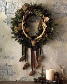 Lodge Christmas Wreath