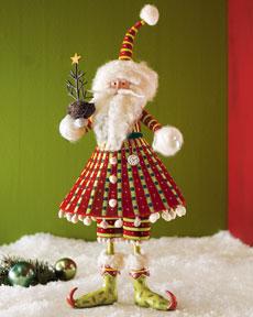 Patience Brewster Santa Christmas Figure