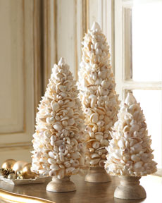 Shell Tabletop Trees