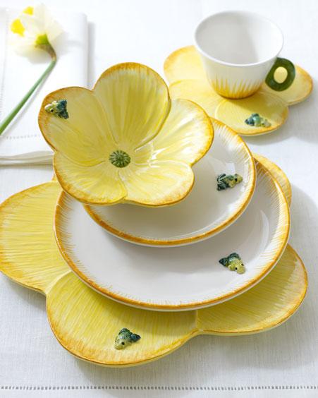 Frog & Blossom Dinnerware