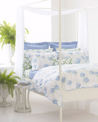 Bamboo Lattice Boudoir Sham