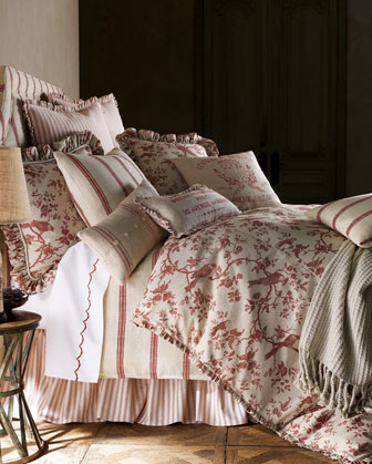 BRUSSELS STRIPE KG COVERLET