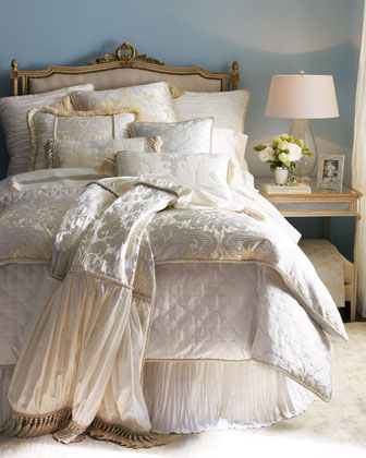 Damask Queen Duvet Cover, 90
