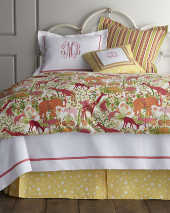 Twin Animal-Print Duvet Cover, 68