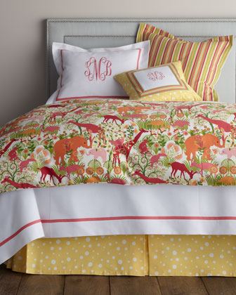 Full Animal-Print Duvet Cover, 86