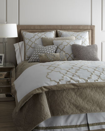 King Quilted Coverlet, 110