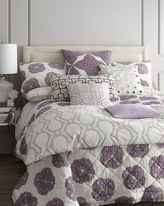 King Duvet Cover w/ Clay Print, 110