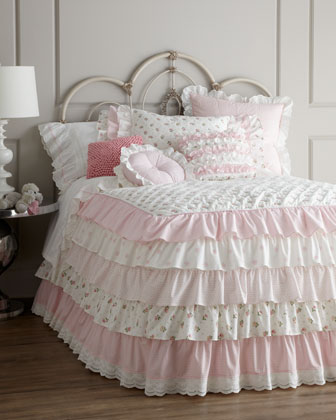 Ruffle-Front Pillow, 18
