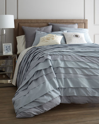 Full/Queen Belgravia Ice Blue Duvet Set