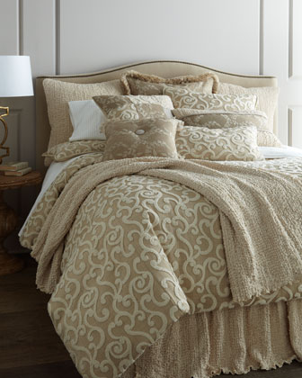 King Scroll Duvet Cover, 108