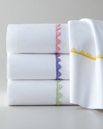 Queen White Fitted Sheet
