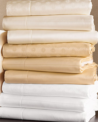 Queen Solid Sateen Fitted Sheet