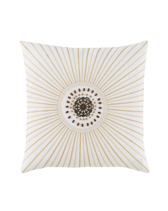 Sunburst Pillow, 18