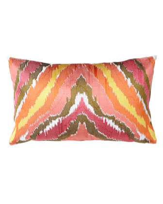 Ikat Pillow, 12