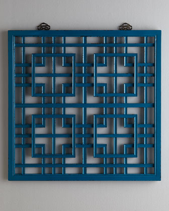 Fretwork Wall Panel